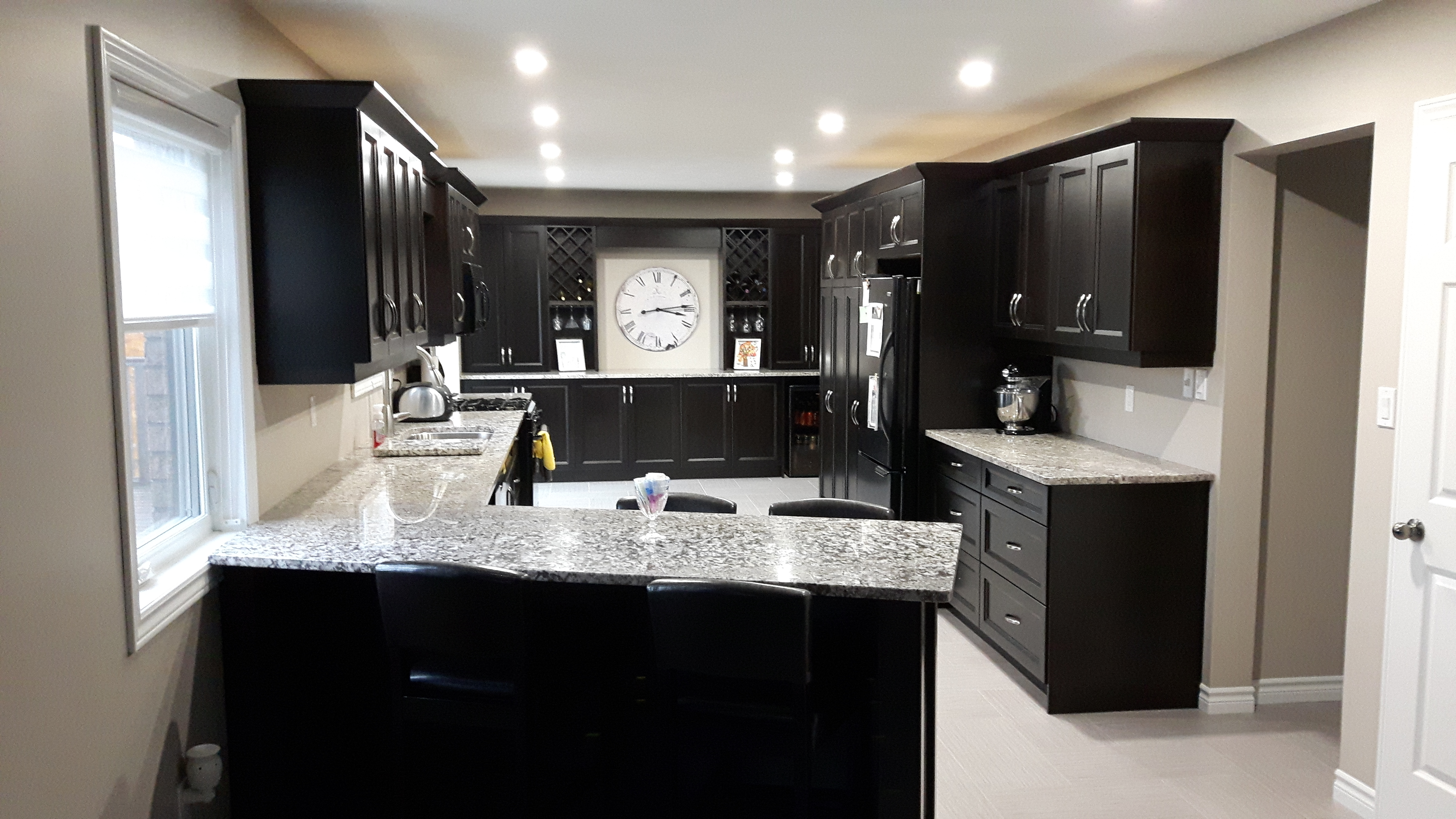 Browns custom kitchens countertops sinks and faucets