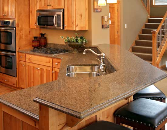 Brown 39 S Custom Kitchens Countertops Sinks And Faucets